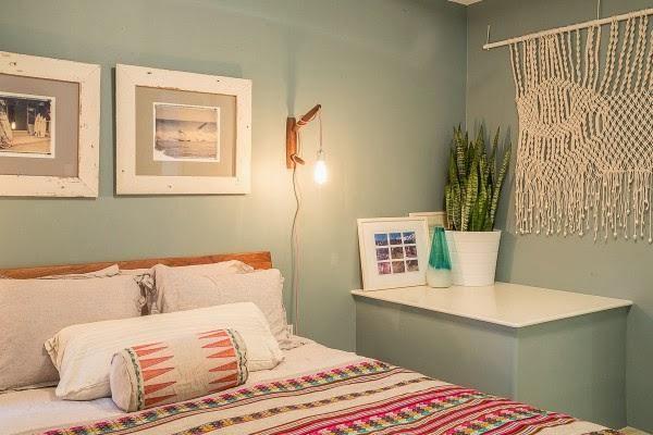 Decoracin modernista con toques tnicos en una casa impresionante