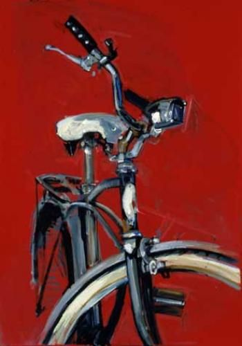 Bicycle Paintings Prints And Custom Bike Art Portraits Bicycle