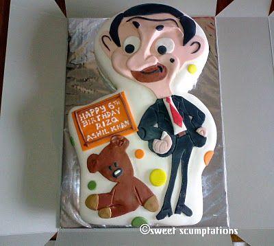 Mr bean fondant cake mr been pinterest mr bean cake bean cakes and cake - Jeux de mister bean cuisine ...