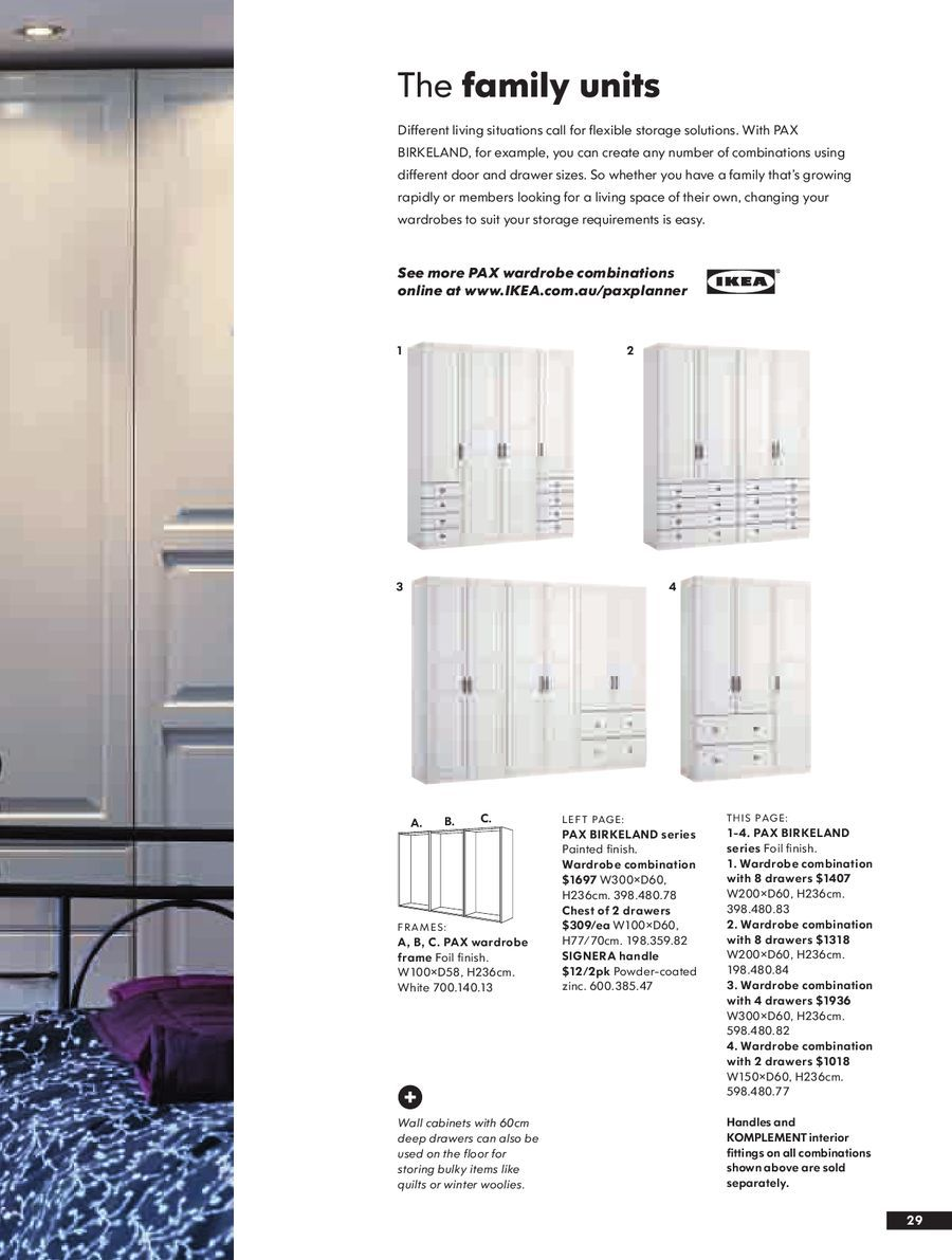 Page 28 Of Wardrobes 2008 Bedroom Built Ins Ikea Pax Ikea