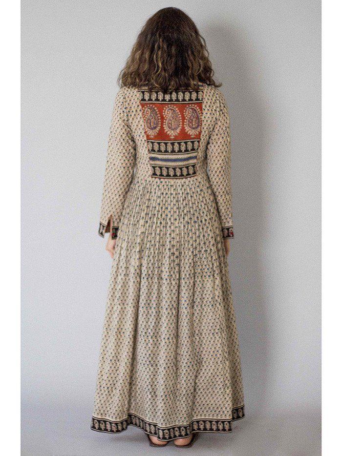 Off White Kora Peshbaan Cotton Dress | Fashion | Dresses ...