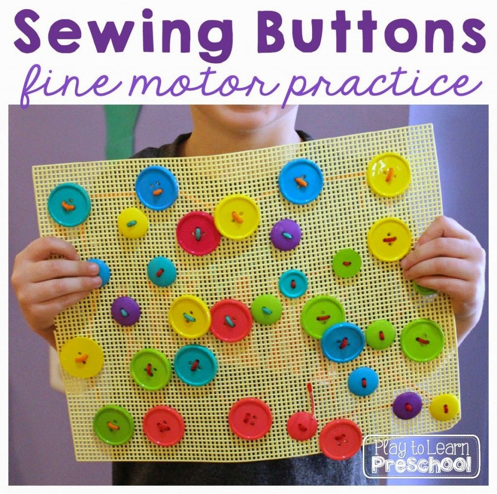 Learn To Sew Buttons
