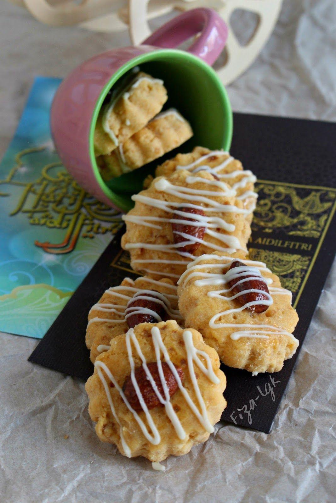 Biskut Badam Lebaran Fiza S Cooking Kue Lezat Resep Biskuit Kue Kering Mentega