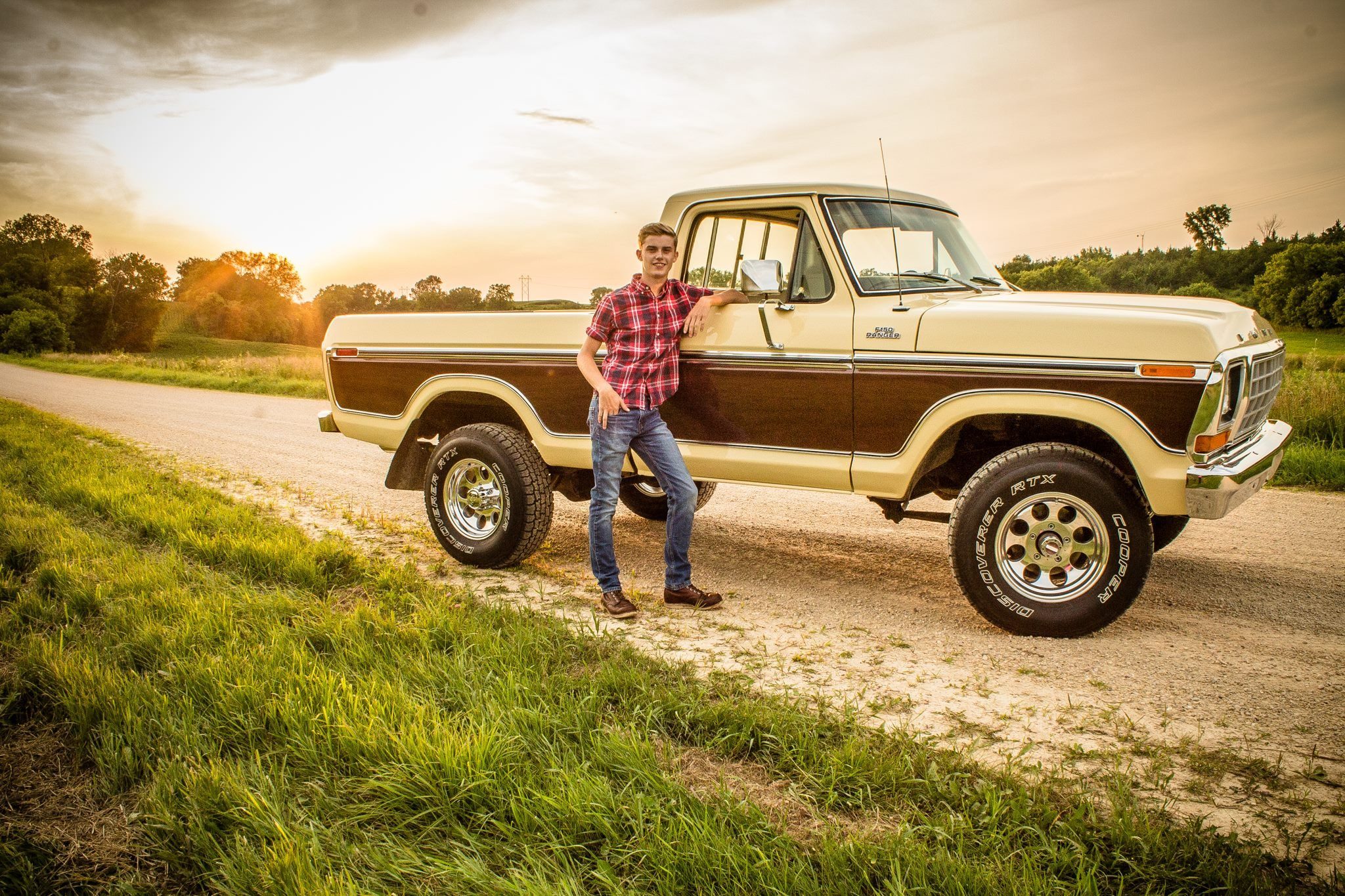 Senior Pictures A Boy And His Truck Senior Photos Boys