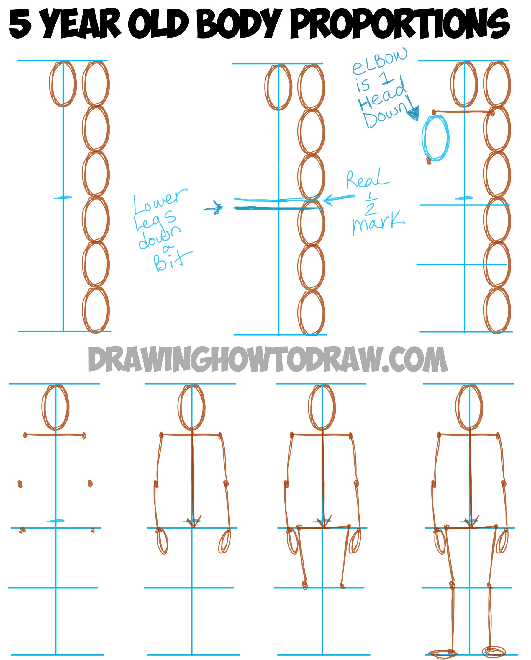Learn How to Draw Human Figures in Correct Proportions by Memorizing Stick  Figures - How to Draw Step by Step Drawing Tutorials