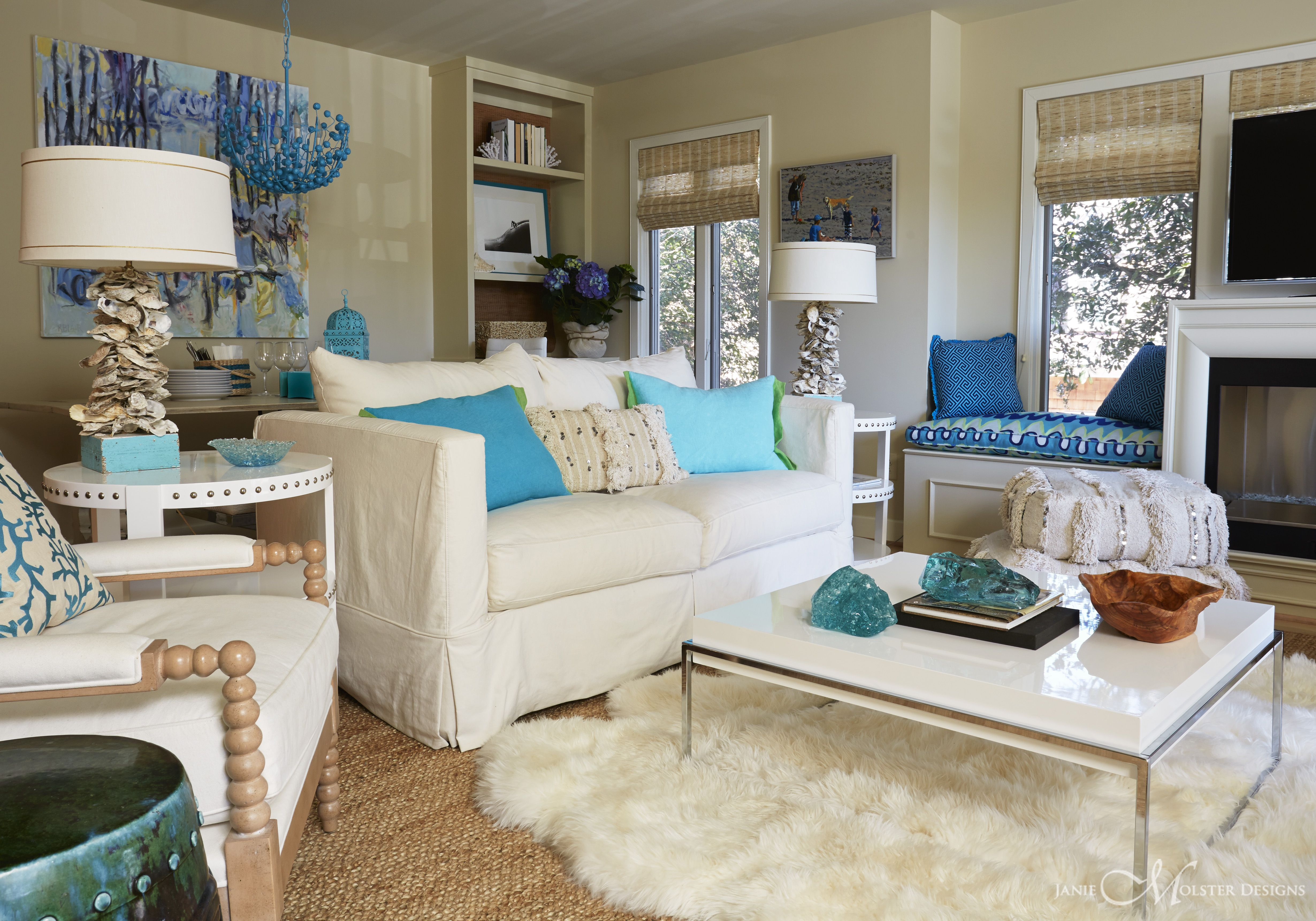 Living room, turquoise and chocolate brown | Brown home ...