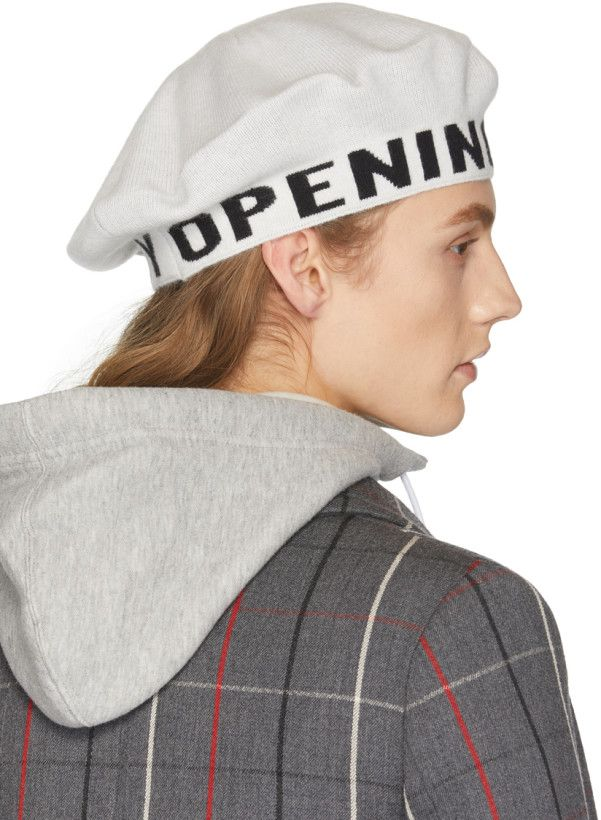 White Logo Beret Opening Ceremony 1tEfRp7CXt