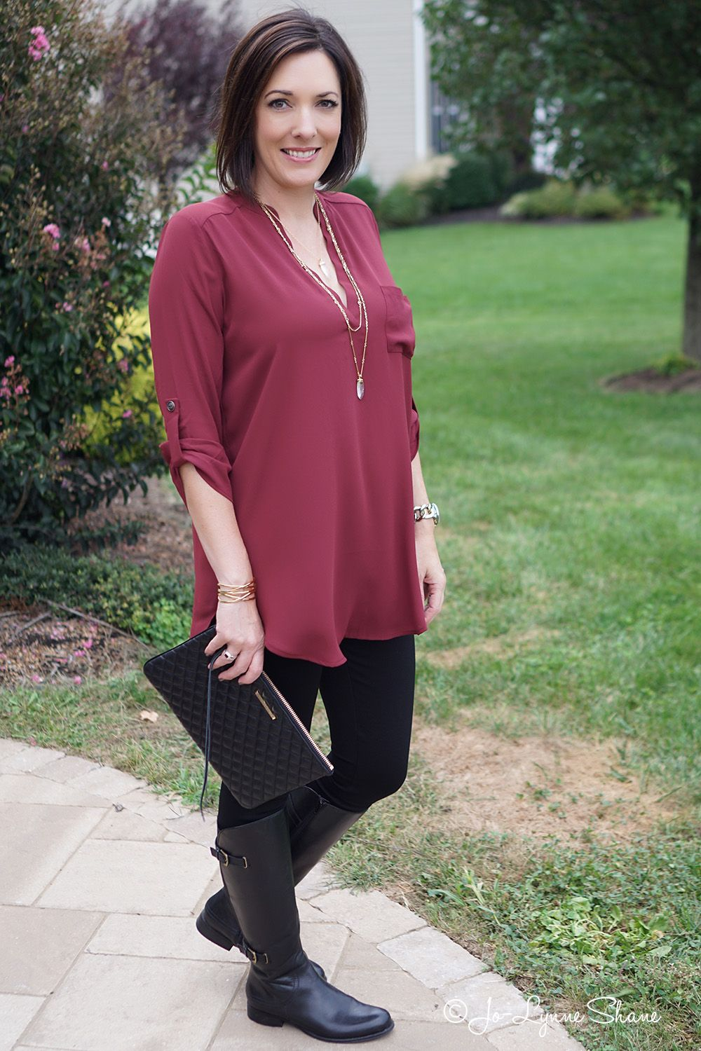How To Wear Leggings  Fashion For My 50S  Fashion, Fall -8059