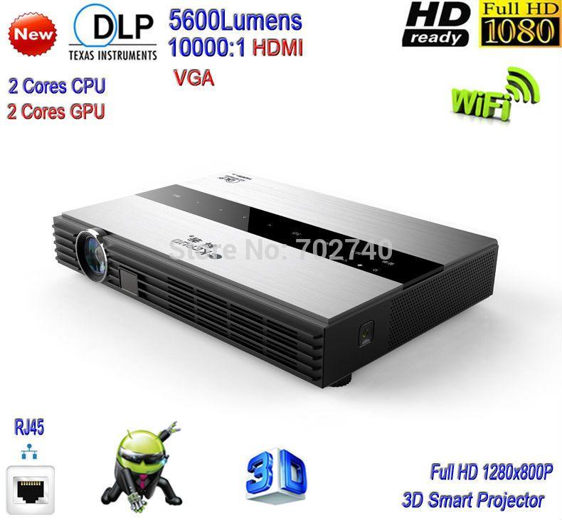 2016 Новый DLP 5600 люмен Андроид Система Металлический корпус Мини проектор WiFi Умный Проектор Full HD 1080 P 3D https://t.co/CXvruyEFrN