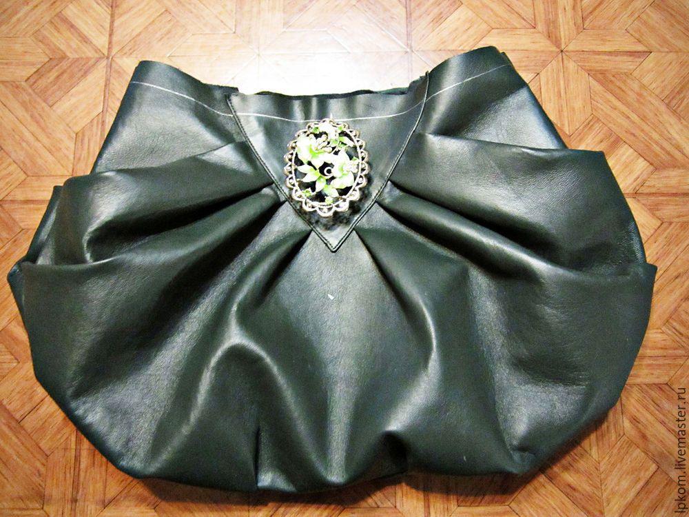 7fbbc97ad69b Как сделать выкройку сумки методом наколки - Ярмарка Мастеров - ручная  работа, handmade