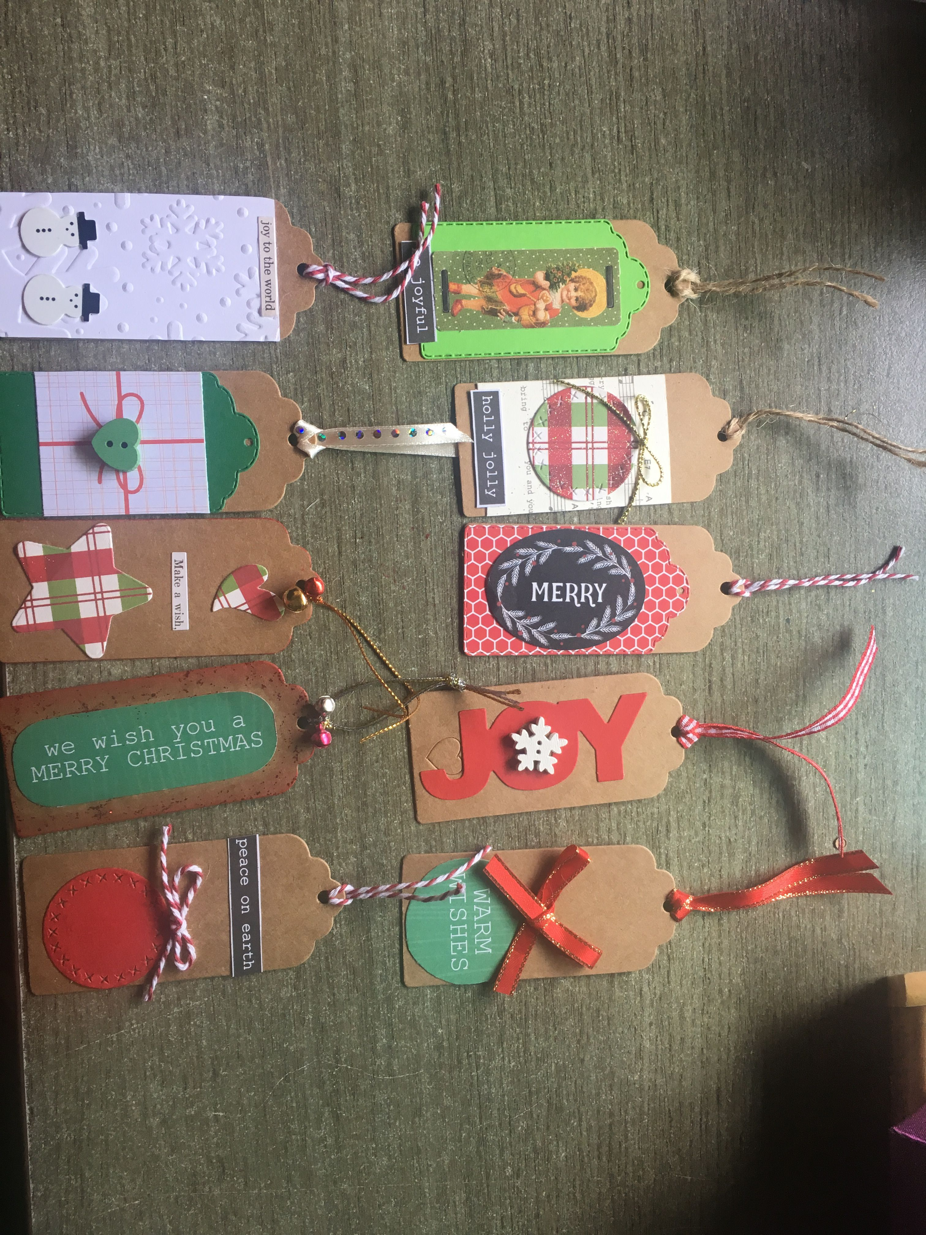 Christmas Gift Tags Pinterest.Pin By Ann Phillips On Cards And Tags Pinterest