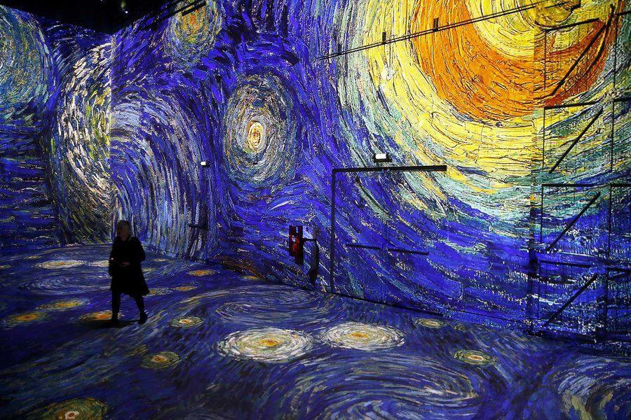 A New Museum Exhibit Lets You Walk Into Vincent Van Gogh S Masterpieces Departures Van Gogh Paintings Van Gogh Museum Van Gogh Art