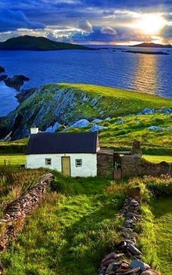 """ Country Cottage, Ireland."" dj funky anni 70 - Google+"