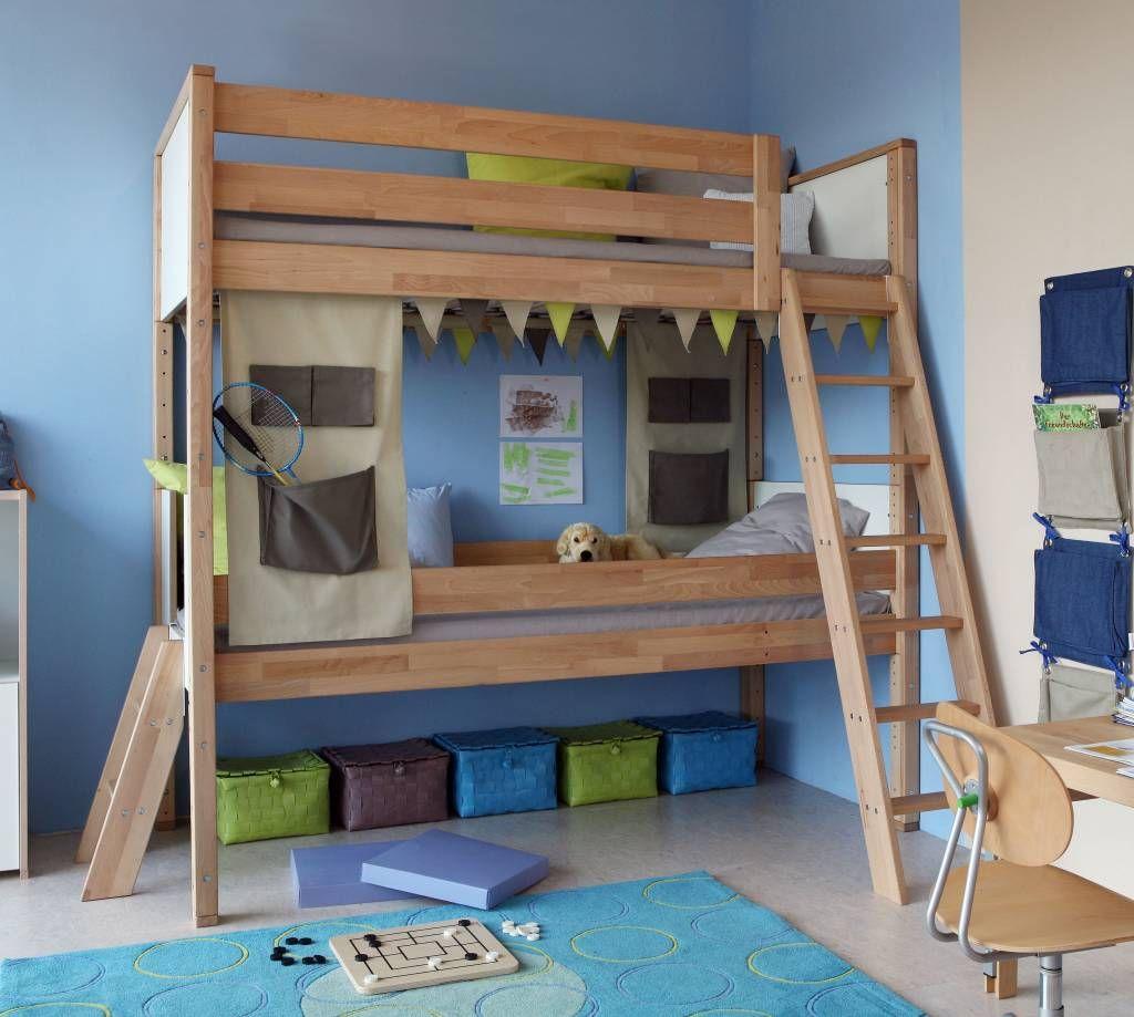 das debedelite etagenbett ist gro genug um 2 kindern gengend platz zu schaffen - Etagenbett Couch Lego Film