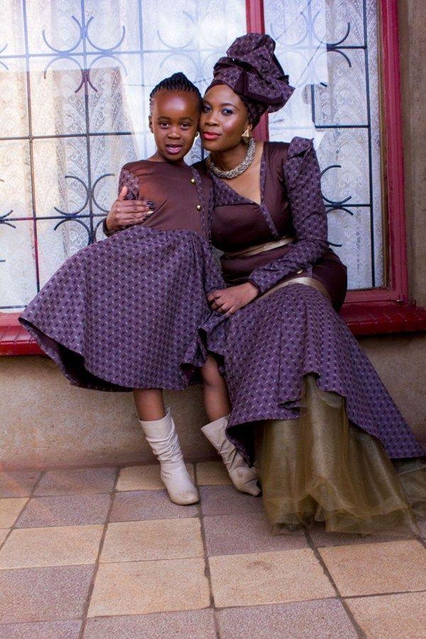 Shweshwe Traditional Dresses for Bridesmaids 2016 2017   Pinterest ...