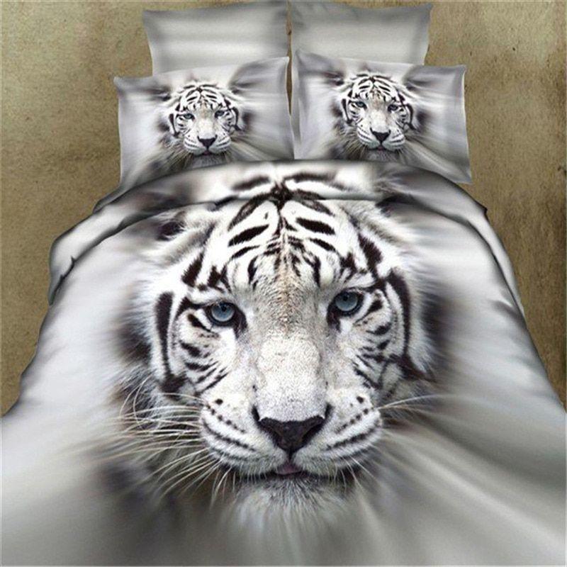 Compre Ropa De Cama 3D Wild Leopard Establecer El Animal