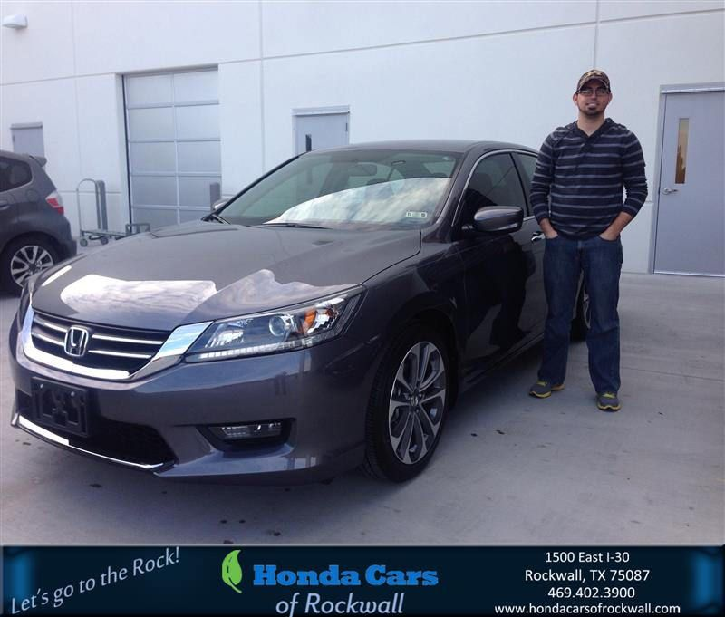 #HappyBirthday To Troy From Jim Rutelonis At Honda Cars Of