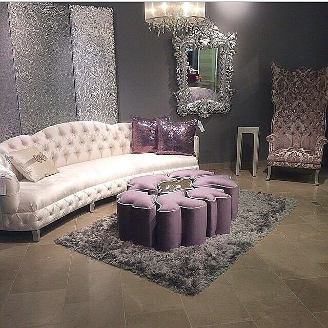 I Just Can T Scroll Past Purple And Not Pin It Living Room Designs Furniture House Interior