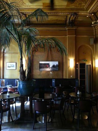 Jugendstil Restaurant Cafe Rix Im Saalbau Neukolln Karl Marx Str