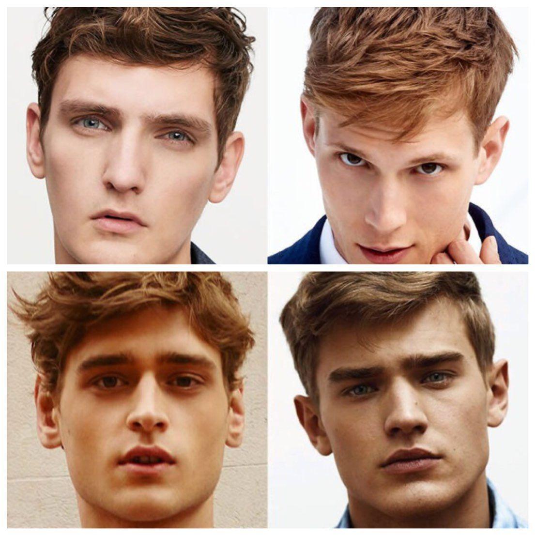 Passende Frisur Finden Männer  Frisuren schmales gesicht