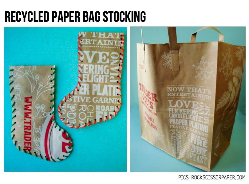 Stockings From Trader Joe S Bags Did These 12 And Were A Hit Filled W Some Treats Gift Cards Sd