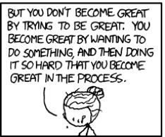 On XKCD, some important advice from zombie!Marie Curie