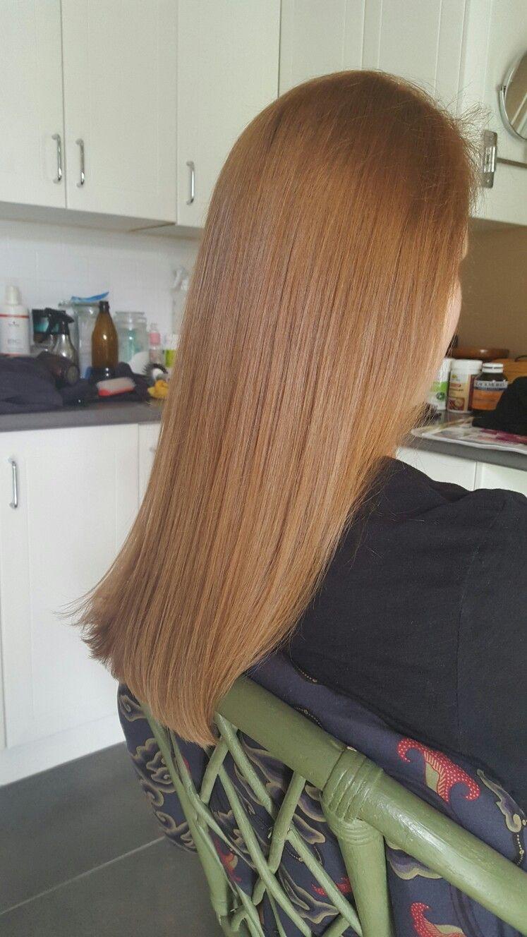 Wella Illumina 7 35 Medium Gold Mahogany Blonde C G Idei Dlya