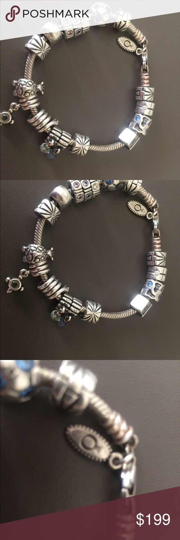 b6a184294 48355 1a1ed; ireland pandora bracelet with 13 charms and 4 spacers this is  the deal for the holidays