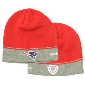 a5d356b96 New England Patriots Sideline NFL Knit Beanie by Reebok. $11.99. NFL ...