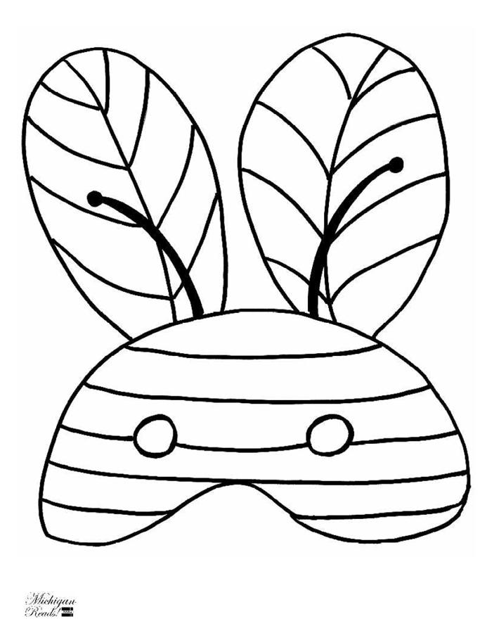 mascara abeja | COLE: Abejas