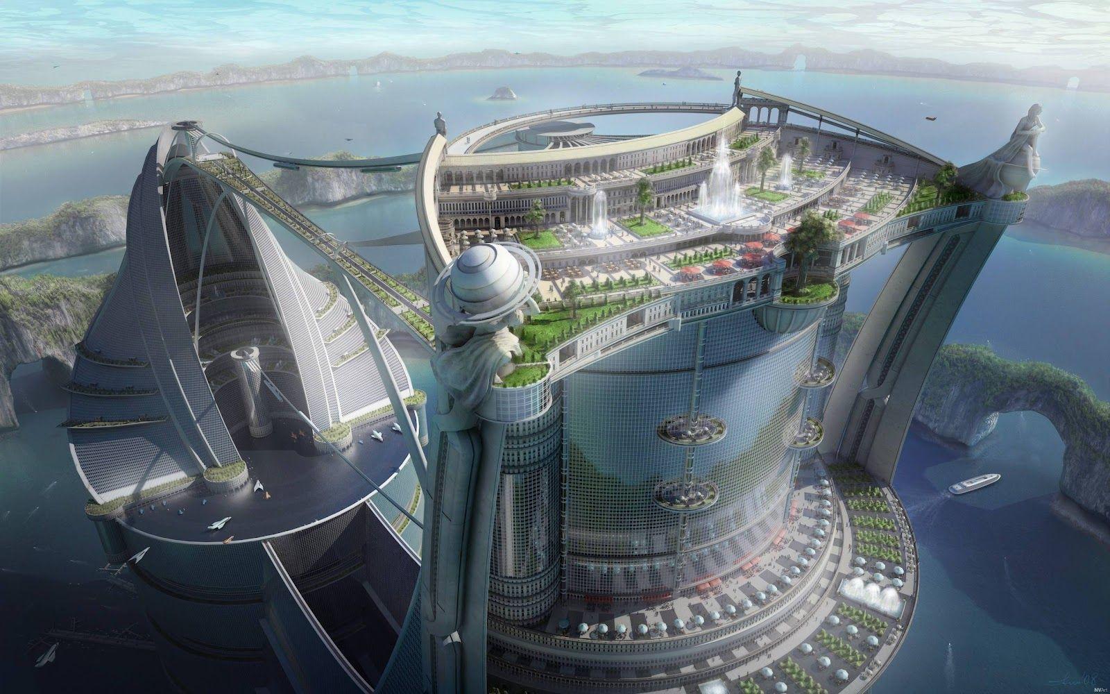 future city concept design - google search | fake cities