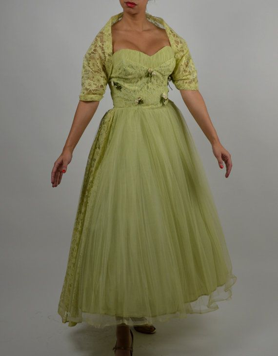 Vintage Prom Dress Sweetheart Neckline Light Green Dress Tulle Prom Dress Bridesmaid Dress Bri Vintage Formal Dresses Light Green Dress Tulle Prom Dress