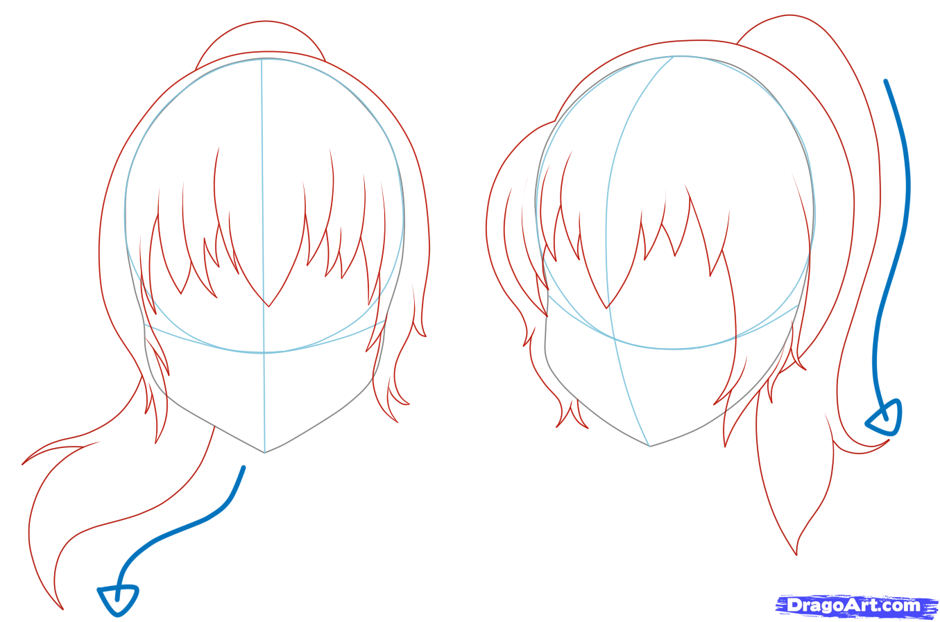 Base Anime with hair pictures