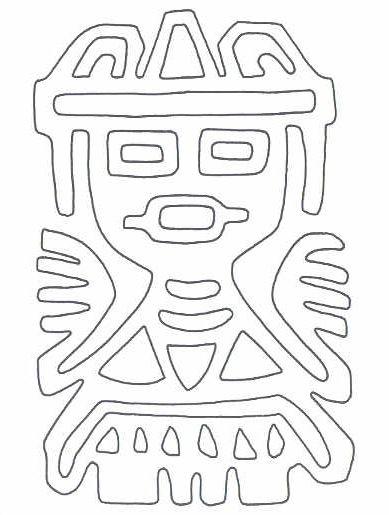 Possible applique for costume   dibujos   Pinterest   Azteca, Maya y ...