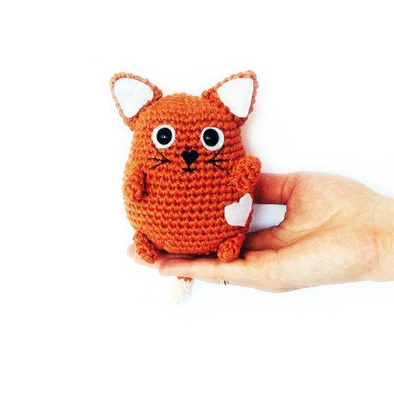 Pattern Crochet Cat Pattern Amigurumi Pattern Pdf Toy Amigurumi Cat