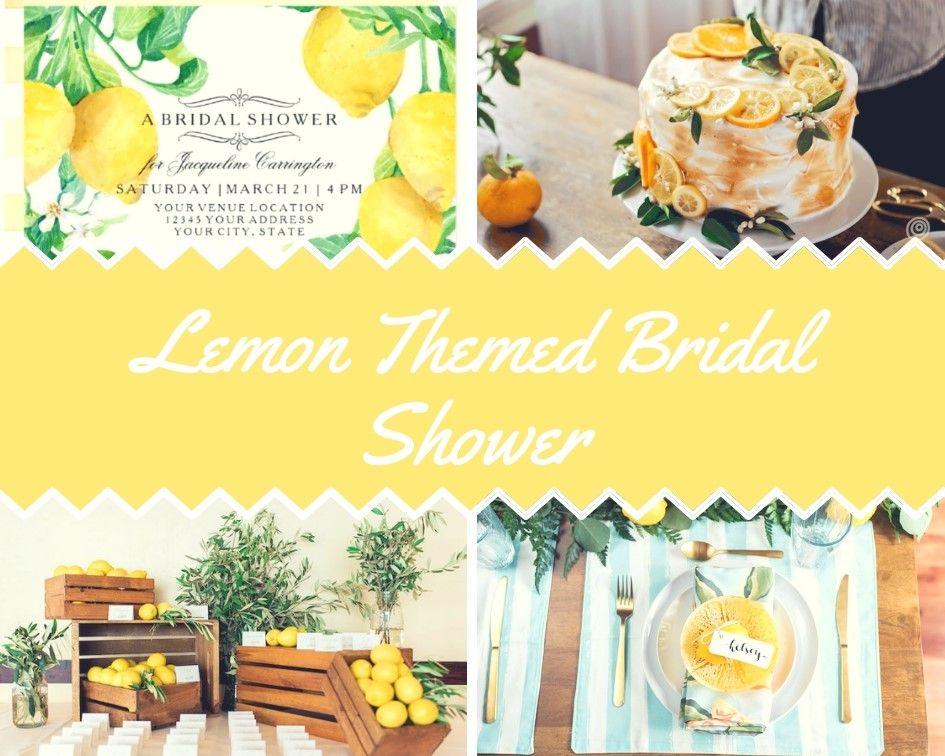 Lemon Themed Bridal Shower Ideas Bridal Shower Ideas 4u Lemon