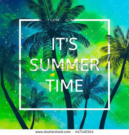 Hello Summer time wallpaper, fun, party, background, picture, art - new jungle powerpoint template