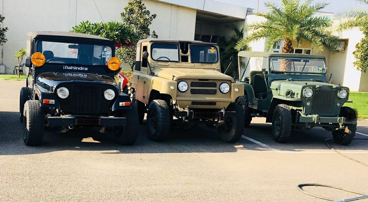 All generation of best offroader at one place