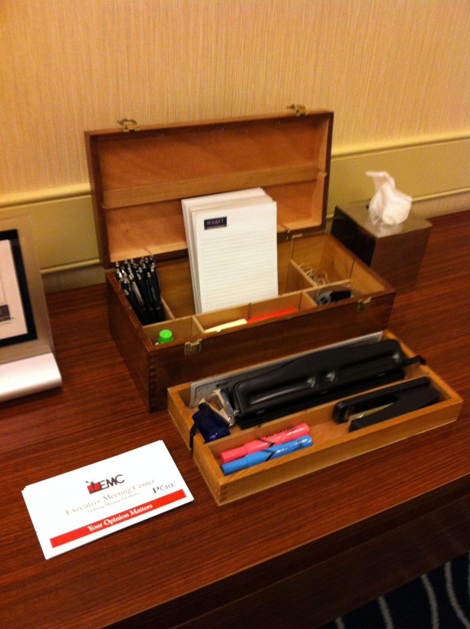 ensuring your meeting is equiped with all the necessities