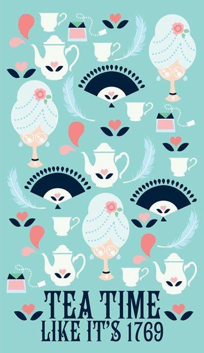 tea time like it's 1769