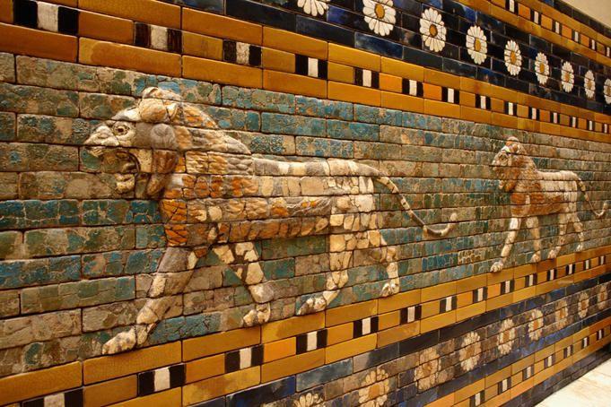 Babylonian Processional Way Detail At Pergamon Museum Pergamon Museum Ancient Babylon Pergamon