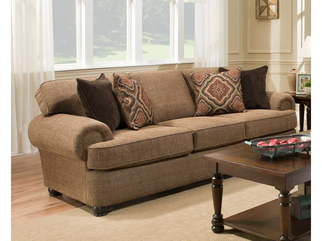 Beautiful Simmons Upholstery Living Room Shelby Sofa 053359   Furniture Fair    Cincinnati U0026 Dayton OH And