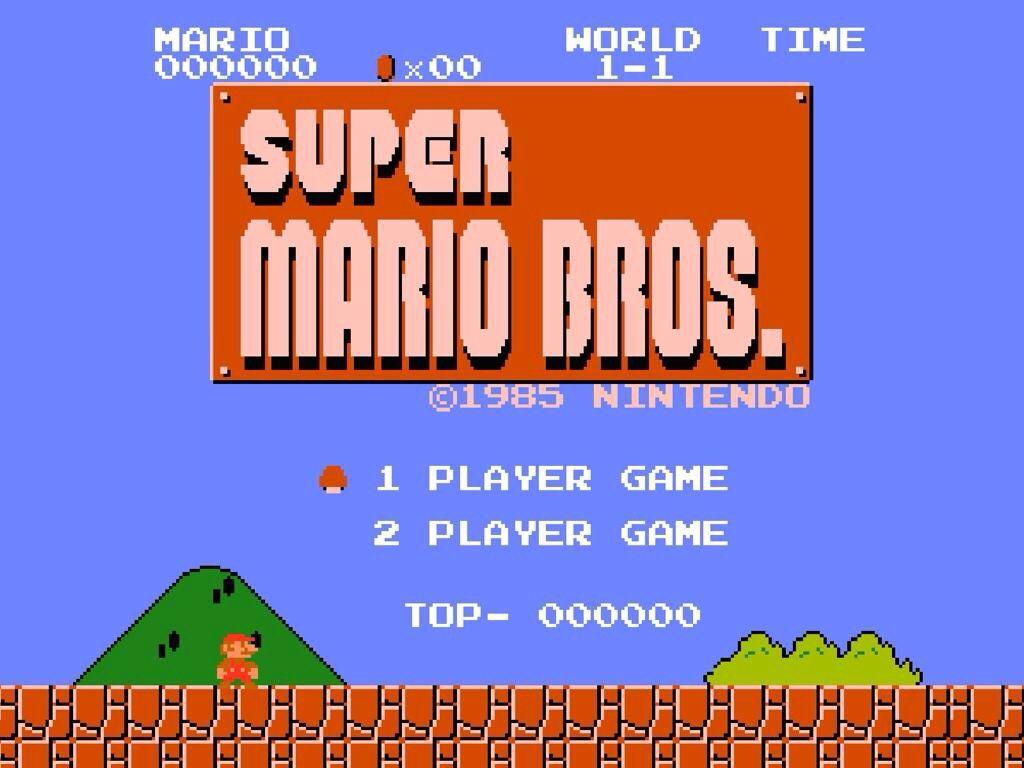 Image result for Super Mario Bros Original