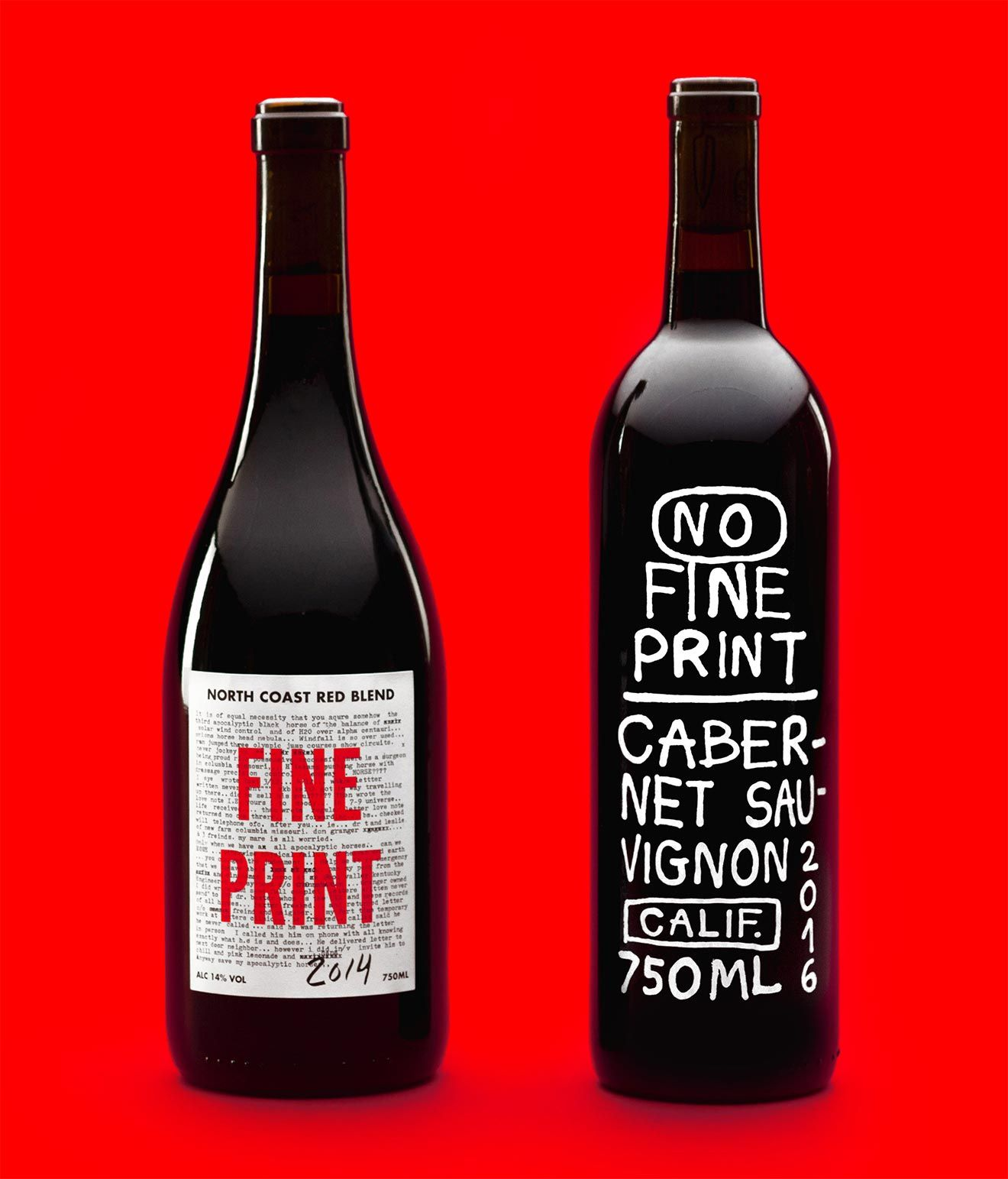 No Fine Print Wine Debuts Two New Bottles Chilled Magazine Wine Club Gift Wine Clubs Wine