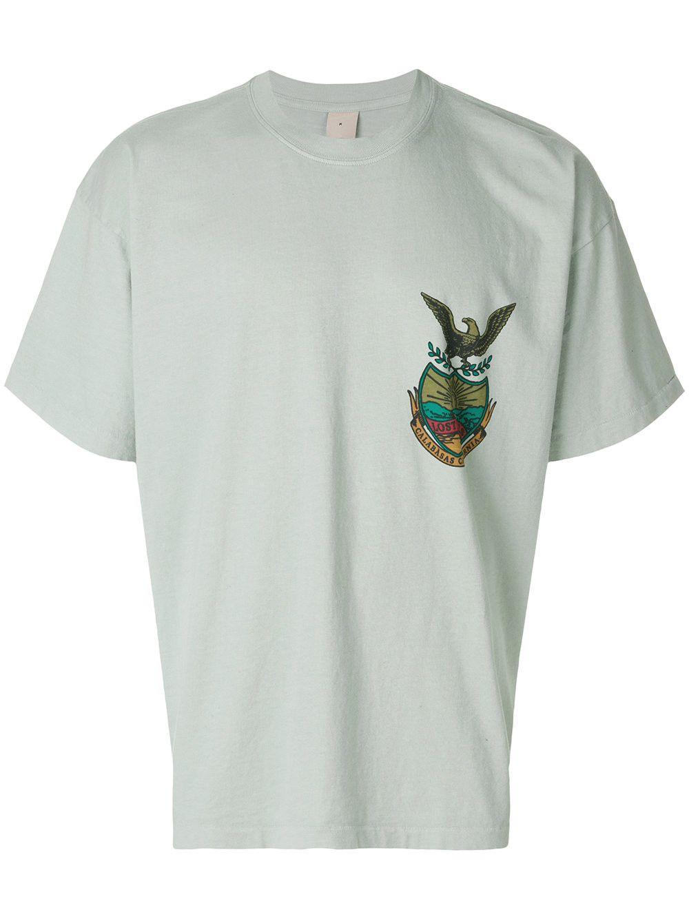 c314bc449 YEEZY Calabasas Lost Hills crest T-shirt.  yeezy  cloth