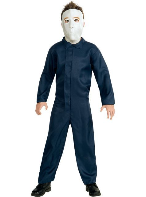 Boys Classic Michael Myers Costume Halloween Party City Michael Myers Halloween Costume Michael Myers Costume Scary Halloween Costumes