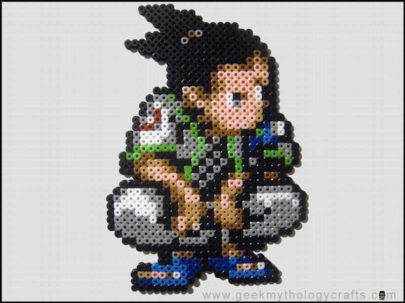 Shikamaru Bead Sprite by GeekMythologyStudios