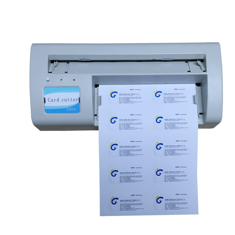 2017 New Card cutter All Automatical PVC Business Card Cutter ID ...