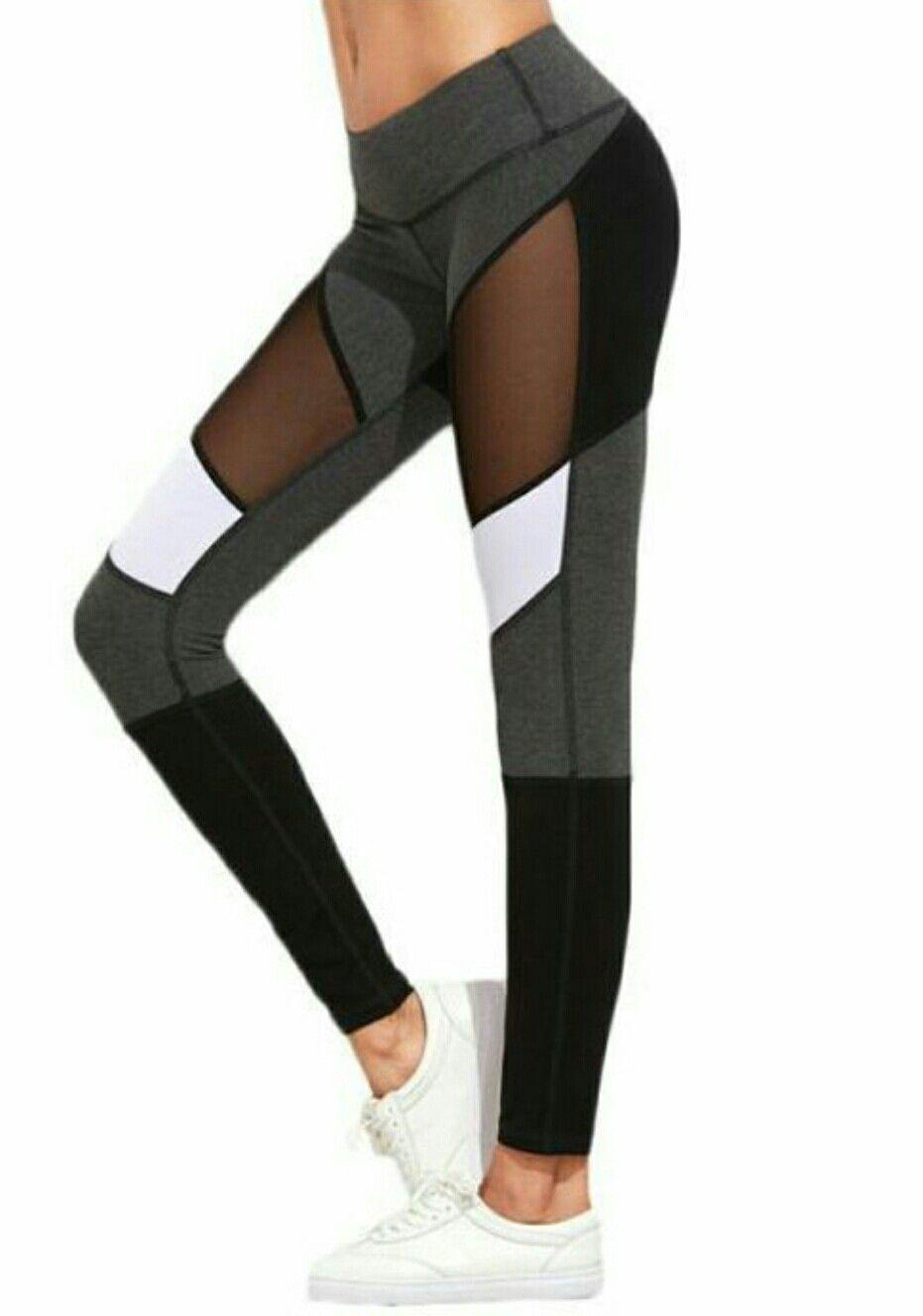 1c7c97f7c9 ... workout sexy trousers elastic Pants Ladies. Mesh Yoga Leggings, Mesh  Insert Leggings, Sports Leggings, Women's Leggings, Crazy Leggings