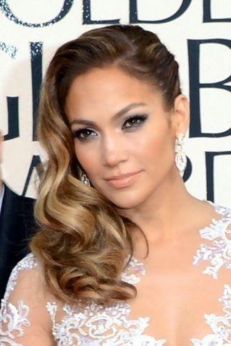 Golden Globes 2013 Best Hair And Makeup Peinados Formales Para Cabello Largo Peinados Fiesta Pelo Corto Peinados Cabello Ondulado
